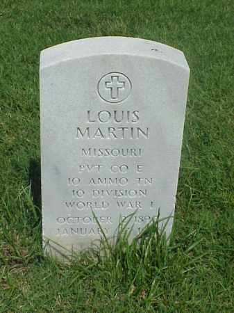 MARTIN (VETERAN WWI), LOUIS - Pulaski County, Arkansas | LOUIS MARTIN (VETERAN WWI) - Arkansas Gravestone Photos