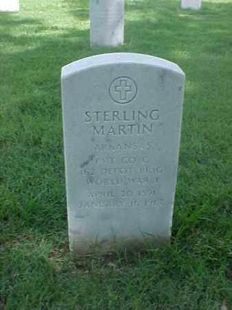 MARTIN (VETERAN WWI), STERLING - Pulaski County, Arkansas | STERLING MARTIN (VETERAN WWI) - Arkansas Gravestone Photos