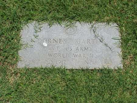 MARTIN (VETERAN WWII), EARNEST - Pulaski County, Arkansas | EARNEST MARTIN (VETERAN WWII) - Arkansas Gravestone Photos