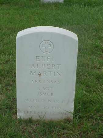 MARTIN (VETERAN WWII), EUEL ALBERT - Pulaski County, Arkansas   EUEL ALBERT MARTIN (VETERAN WWII) - Arkansas Gravestone Photos