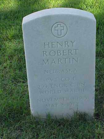 MARTIN (VETERAN WWII), HENRY ROBERT - Pulaski County, Arkansas | HENRY ROBERT MARTIN (VETERAN WWII) - Arkansas Gravestone Photos