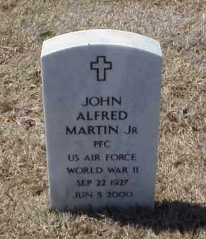 MARTIN JR (VETERAN WWII), JOHN ALFORD - Pulaski County, Arkansas | JOHN ALFORD MARTIN JR (VETERAN WWII) - Arkansas Gravestone Photos