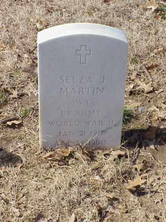 MARTIN (VETERAN WWII), SELZA J - Pulaski County, Arkansas | SELZA J MARTIN (VETERAN WWII) - Arkansas Gravestone Photos