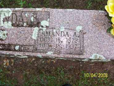 MARTINDALE, AMANDA - Pulaski County, Arkansas | AMANDA MARTINDALE - Arkansas Gravestone Photos