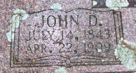 MARTINDALE, JOHN D. - Pulaski County, Arkansas | JOHN D. MARTINDALE - Arkansas Gravestone Photos