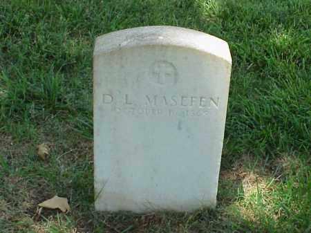 MASEFEN (VETERAN UNION), D L - Pulaski County, Arkansas | D L MASEFEN (VETERAN UNION) - Arkansas Gravestone Photos