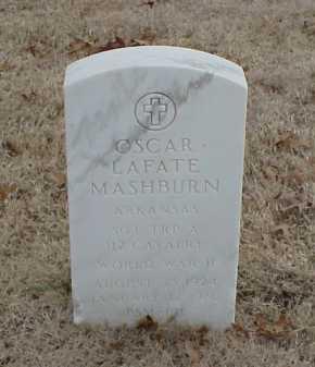 MASHBURN  (VETERAN WWII), OSCAR LAFATE - Pulaski County, Arkansas | OSCAR LAFATE MASHBURN  (VETERAN WWII) - Arkansas Gravestone Photos