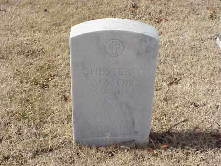 MASON (VETERAN 2 WARS), CHESTER G - Pulaski County, Arkansas | CHESTER G MASON (VETERAN 2 WARS) - Arkansas Gravestone Photos