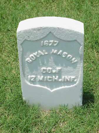 MASON (VETERAN UNION), ROYAL - Pulaski County, Arkansas   ROYAL MASON (VETERAN UNION) - Arkansas Gravestone Photos