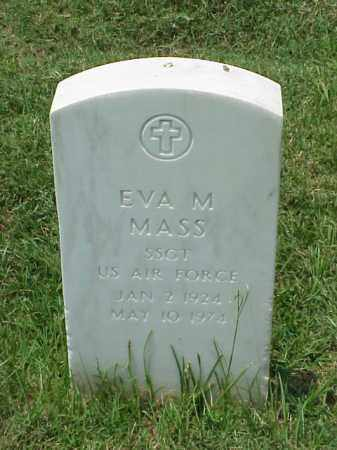 MASS (VETERAN 2 WARS), EVA MAE - Pulaski County, Arkansas | EVA MAE MASS (VETERAN 2 WARS) - Arkansas Gravestone Photos