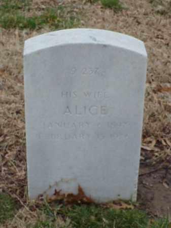 MASSERY, ALICE - Pulaski County, Arkansas | ALICE MASSERY - Arkansas Gravestone Photos