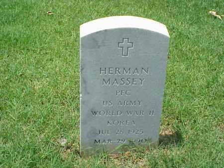 MASSEY (VETERAN 2 WARS), HERMAN - Pulaski County, Arkansas   HERMAN MASSEY (VETERAN 2 WARS) - Arkansas Gravestone Photos