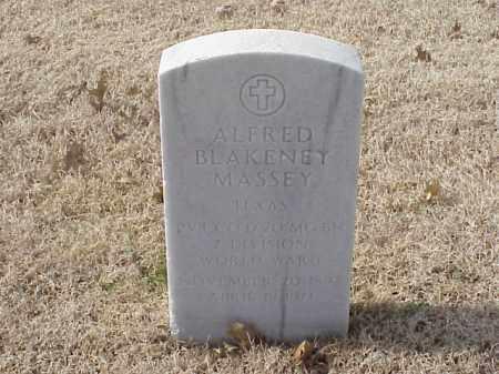 MASSEY (VETERAN WWII), ALFRED BLAKENEY - Pulaski County, Arkansas   ALFRED BLAKENEY MASSEY (VETERAN WWII) - Arkansas Gravestone Photos