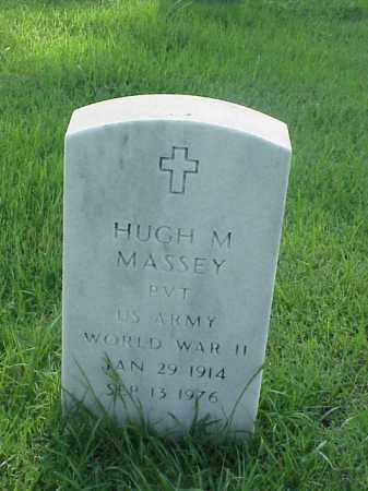 MASSEY (VETERAN WWII), HUGH M - Pulaski County, Arkansas   HUGH M MASSEY (VETERAN WWII) - Arkansas Gravestone Photos