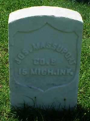 MASSUPORT (VETERAN UNION), JOSEPH - Pulaski County, Arkansas | JOSEPH MASSUPORT (VETERAN UNION) - Arkansas Gravestone Photos