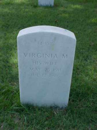 MASTERS, VIRGINIA M - Pulaski County, Arkansas   VIRGINIA M MASTERS - Arkansas Gravestone Photos
