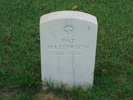 MASTERSON, PAT - Pulaski County, Arkansas | PAT MASTERSON - Arkansas Gravestone Photos