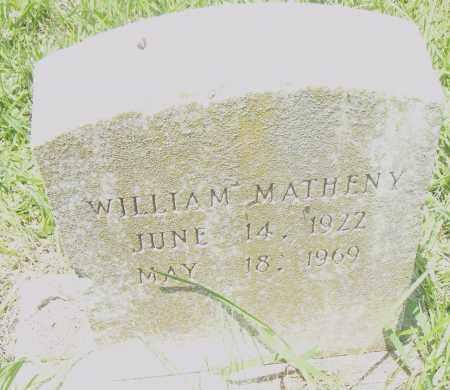 MATHENY, WILLIAM - Pulaski County, Arkansas | WILLIAM MATHENY - Arkansas Gravestone Photos