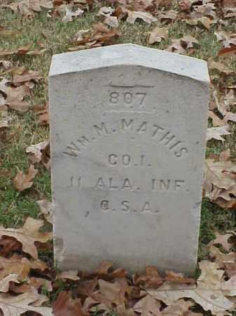 MATHIS (VETERAN CSA), WILLIMA M - Pulaski County, Arkansas   WILLIMA M MATHIS (VETERAN CSA) - Arkansas Gravestone Photos