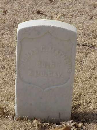 MATTHEWS (VETERAN UNION), THOAMS C - Pulaski County, Arkansas | THOAMS C MATTHEWS (VETERAN UNION) - Arkansas Gravestone Photos