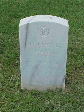 MAUL (VETERAN 2 WARS), ROBERT L - Pulaski County, Arkansas   ROBERT L MAUL (VETERAN 2 WARS) - Arkansas Gravestone Photos