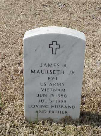 MAURSETH, JR  (VETERAN VIET), JAMES A - Pulaski County, Arkansas | JAMES A MAURSETH, JR  (VETERAN VIET) - Arkansas Gravestone Photos