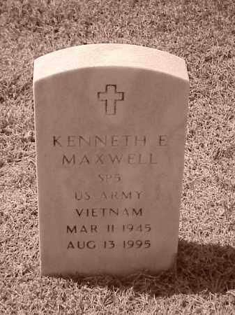 MAXWELL (VETERAN VIET), KENNETH EUGENE - Pulaski County, Arkansas | KENNETH EUGENE MAXWELL (VETERAN VIET) - Arkansas Gravestone Photos