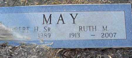 MAY, ROBERT HENRY - Pulaski County, Arkansas | ROBERT HENRY MAY - Arkansas Gravestone Photos