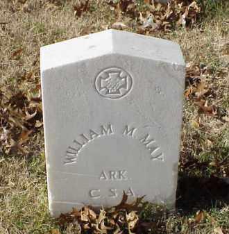 MAY (VETERAN CSA), WILLIAM M - Pulaski County, Arkansas | WILLIAM M MAY (VETERAN CSA) - Arkansas Gravestone Photos