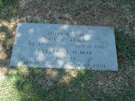 MAY (VETERAN WWII), JOHN R - Pulaski County, Arkansas | JOHN R MAY (VETERAN WWII) - Arkansas Gravestone Photos