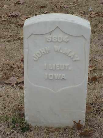 MAY (VETERAN UNION), JOHN W - Pulaski County, Arkansas   JOHN W MAY (VETERAN UNION) - Arkansas Gravestone Photos