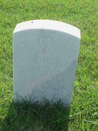 MAYBERRY (VETERAN WWII), CORNELIUS VANCE - Pulaski County, Arkansas | CORNELIUS VANCE MAYBERRY (VETERAN WWII) - Arkansas Gravestone Photos