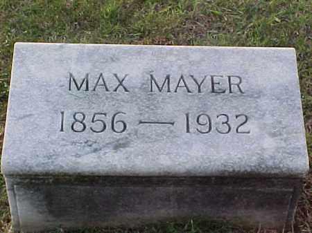 MAYER, MAX - Pulaski County, Arkansas   MAX MAYER - Arkansas Gravestone Photos