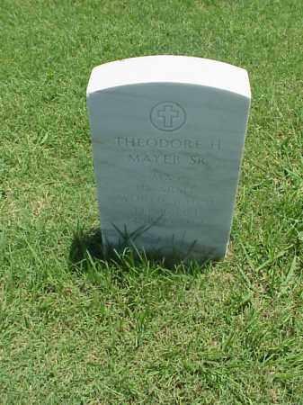 MAYER, SR (VETERAN WWII), THEODORE H - Pulaski County, Arkansas | THEODORE H MAYER, SR (VETERAN WWII) - Arkansas Gravestone Photos