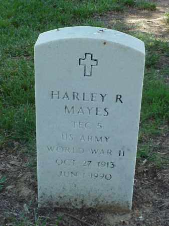 MAYES (VETERAN WWII), HARLEY R - Pulaski County, Arkansas   HARLEY R MAYES (VETERAN WWII) - Arkansas Gravestone Photos
