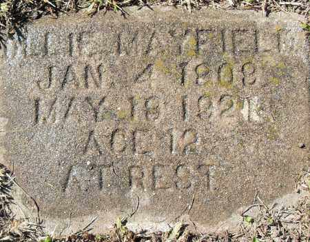 MAYFIELD, OLLIE - Pulaski County, Arkansas | OLLIE MAYFIELD - Arkansas Gravestone Photos
