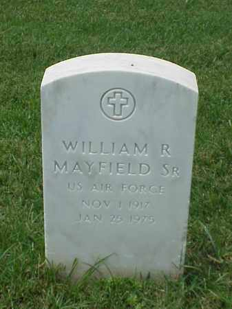 MAYFIELD, SR (VETERAN), WILLIAM R - Pulaski County, Arkansas | WILLIAM R MAYFIELD, SR (VETERAN) - Arkansas Gravestone Photos