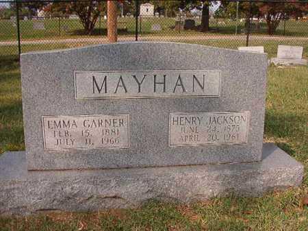 MAYHAN, HENRY JACKSON - Pulaski County, Arkansas | HENRY JACKSON MAYHAN - Arkansas Gravestone Photos