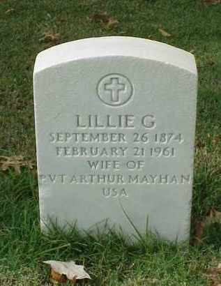 MAYHAN, LILLIE G - Pulaski County, Arkansas | LILLIE G MAYHAN - Arkansas Gravestone Photos