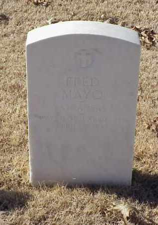 MAYO (VETERAN WWI), FRED - Pulaski County, Arkansas | FRED MAYO (VETERAN WWI) - Arkansas Gravestone Photos