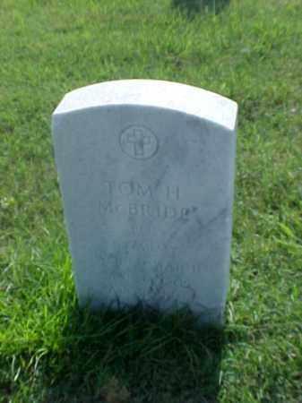 MCBRIDE (VETERAN), TOM H - Pulaski County, Arkansas   TOM H MCBRIDE (VETERAN) - Arkansas Gravestone Photos