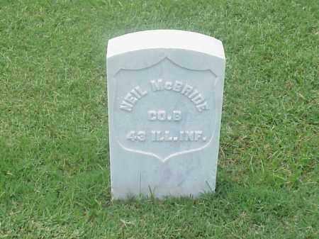 MCBRIDE (VETERAN UNION), NEIL - Pulaski County, Arkansas | NEIL MCBRIDE (VETERAN UNION) - Arkansas Gravestone Photos