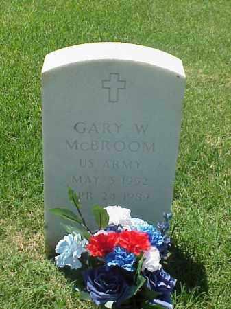 MCBROOM (VETERAN VIET), GARY W - Pulaski County, Arkansas   GARY W MCBROOM (VETERAN VIET) - Arkansas Gravestone Photos