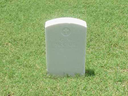 MCCABE (VETERAN UNION), G W - Pulaski County, Arkansas   G W MCCABE (VETERAN UNION) - Arkansas Gravestone Photos