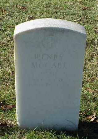 MCCABE (VETERAN UNION), HENRY - Pulaski County, Arkansas | HENRY MCCABE (VETERAN UNION) - Arkansas Gravestone Photos