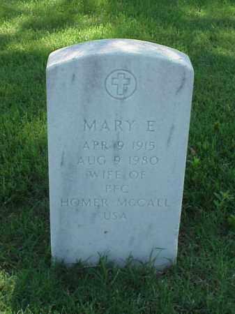 MCCALL, MARY E - Pulaski County, Arkansas | MARY E MCCALL - Arkansas Gravestone Photos