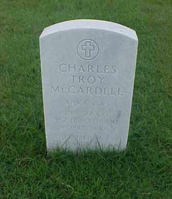 MCCARDELL (VETERAN WWI), CHARLES TROY - Pulaski County, Arkansas   CHARLES TROY MCCARDELL (VETERAN WWI) - Arkansas Gravestone Photos