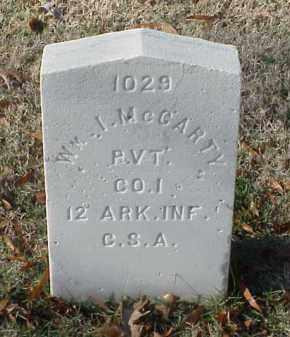 MCCARTY (VETERAN CSA), WILLIAM I - Pulaski County, Arkansas | WILLIAM I MCCARTY (VETERAN CSA) - Arkansas Gravestone Photos