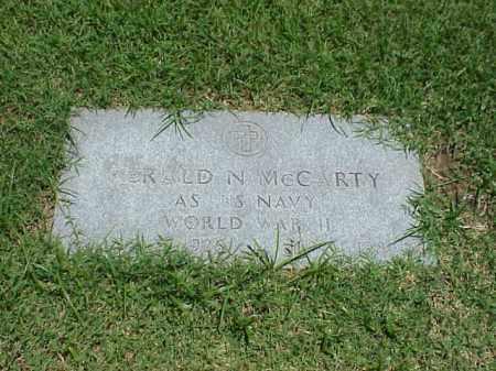 MCCARTY (VETERAN WWII), GERALD N - Pulaski County, Arkansas   GERALD N MCCARTY (VETERAN WWII) - Arkansas Gravestone Photos