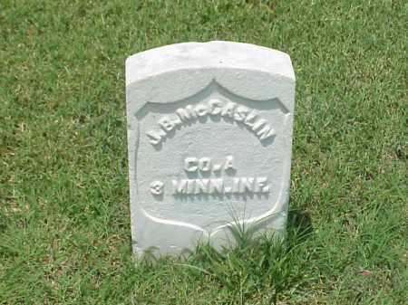 MCCASLIN (VETERAN UNION), J B - Pulaski County, Arkansas   J B MCCASLIN (VETERAN UNION) - Arkansas Gravestone Photos